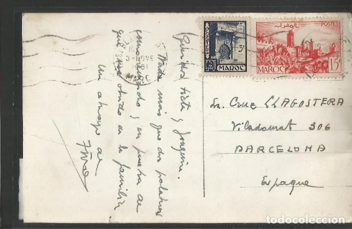 Postales: MARRUECOS - CIRCULADA - VER REVERSO - (45.902) - Foto 2 - 71928787