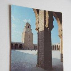 Postales: 529. TUNISIE - KAIROUAN: LA GRANDE MOSQUÉE. Lote 73733839