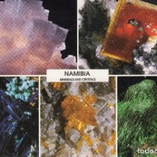 Postais: TARJETA POSTAL NAMIBIA CIRCULADA A HOLANDA. TEMA MINERALES. AÑO 1992 (2).. Lote 73829835