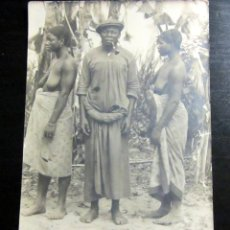 Postales: POSTAL ANTIGUA ETNICA AFRICA SIN CIRCULAR. Lote 75163515