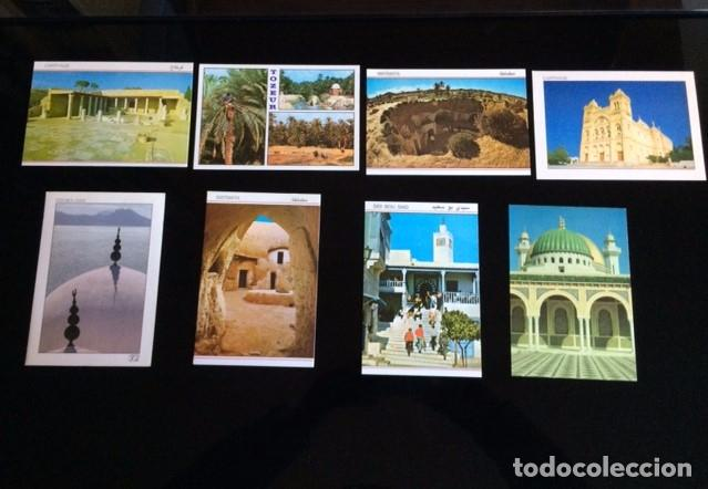 8 POSTALES DE TUNEZ (Postales - Postales Extranjero - África)