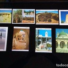 Postales: 8 POSTALES DE TUNEZ. Lote 75580927