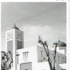 Postales: LARACHE PROTECTORADO DE ESPAÑA .CIECULADA .CON RELOJ EN EL CAMPANARIO. Lote 77360785