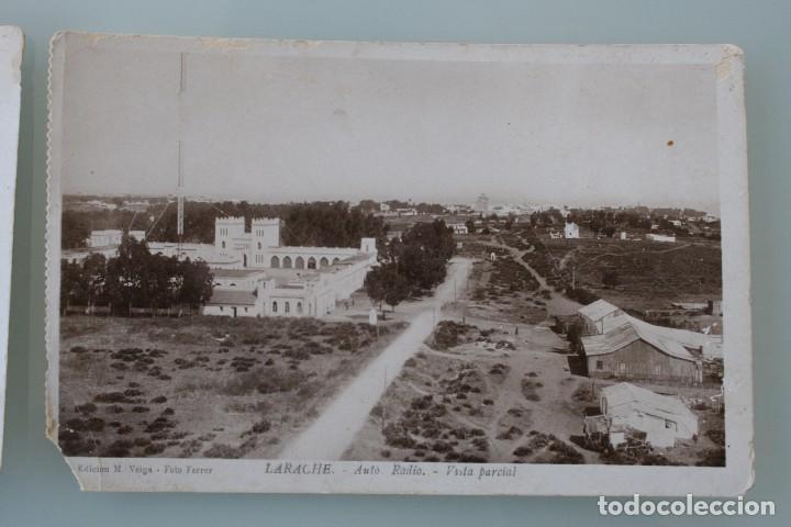 Postales: ANTIGUAS POSTALES DE LARACHE MARRUECOS VISTA PARCIAL CRIA CABALLAR – FOTO FERRER - AÑOS 40 - Foto 4 - 82750216