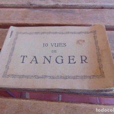 Postales: LIBRETO CON 10 POSTALES TARJETA POSTAL DE TANGER EDITION ELGALY. Lote 86161300