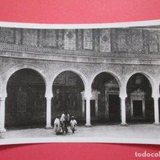 Postales: 3667 TUNISIE TUNISA TUNESIEN TUNEZ TUNECINA KAIROUAN LA MOSQUÉE DU BARBIER. Lote 86504832