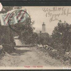 Postales: TANGER - CAP SPARTEL - PZ 10693 - CIRCULADA - (4000-38). Lote 86874724