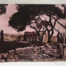 Postales: (XAF-5) ANTIGUA POSTAL FOTOGRÁFICA EGIPTO LE TEMPLE DE RAMASSEUM. SIN CIRCULAR. TEMPLO.. Lote 87439364