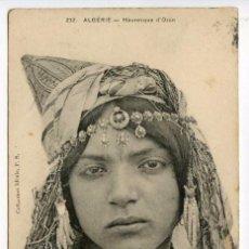 Postales: ARGELIA. ALGERIE. MAURESQUE D´ORAN, CIRCULADA EN 1910. Lote 89398596