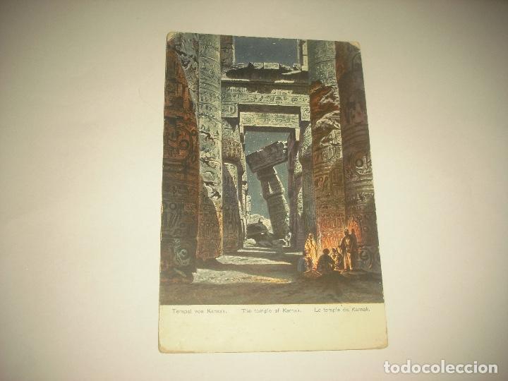 THE TEMPLE OF KERNAK (Postales - Postales Extranjero - África)