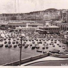 Postales: ARGELIA ALGER EL PUERTO 1953 POSTAL CIRCULADA . Lote 98210615