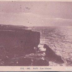 Postales: POSTAL MARRUECOS- SAFI - LES FALAISES - 30 G - 493 - PHOTO FLANDRIN - CIRCULATED . Lote 98331175