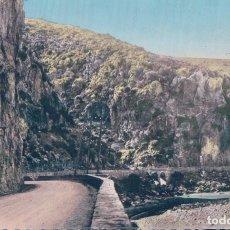 Postales: ALGERIE-GORGES DE PALESTRO-ROUTE DES GORGES. Lote 98340335