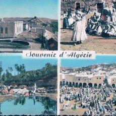 Postales: SOUVENIR ALGERIE - BATAILLON INFANTERIE - LE VAGUEMESTRE. Lote 98341695