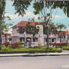 Postales: POSTAL PLAZA DE PORTUGAL. ISLA DE SANTO TOME. PORTUGAL - ILHA DE S. TOMÉ. Lote 98721591