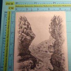 Postales: POSTAL DE ARGELIA. SIGLO XIX - AÑO 1905. CONSTANTINE, LES GORGES DU RHUMMEL. 1398. Lote 98723911
