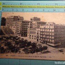 Postales: POSTAL DE ARGELIA. AÑO 1923. ALGER, BOULEVARD LAFERRIERE ET LA DEPECHE ALGERIENNE. 1399. Lote 98723959
