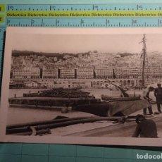 Postales: POSTAL DE ARGELIA. AÑOS 30 50. ALGER, VUE DE LA JETEE. 1400. Lote 98723975
