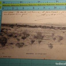 Postales: POSTAL DE ARGELIA. SIGLO XIX - AÑO 1905. AIN SEFRA. LE VILLAGE NEGRE. 1408. Lote 98724171