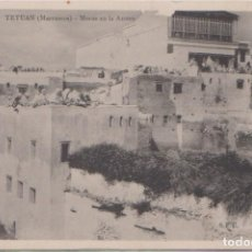 Postales: TETUAN (MARRUECOS) - MORAS EN LA AZOTEA. Lote 100009395