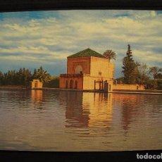Postales: POSTAL MARRAKECH - LA MENARA.. Lote 100149011
