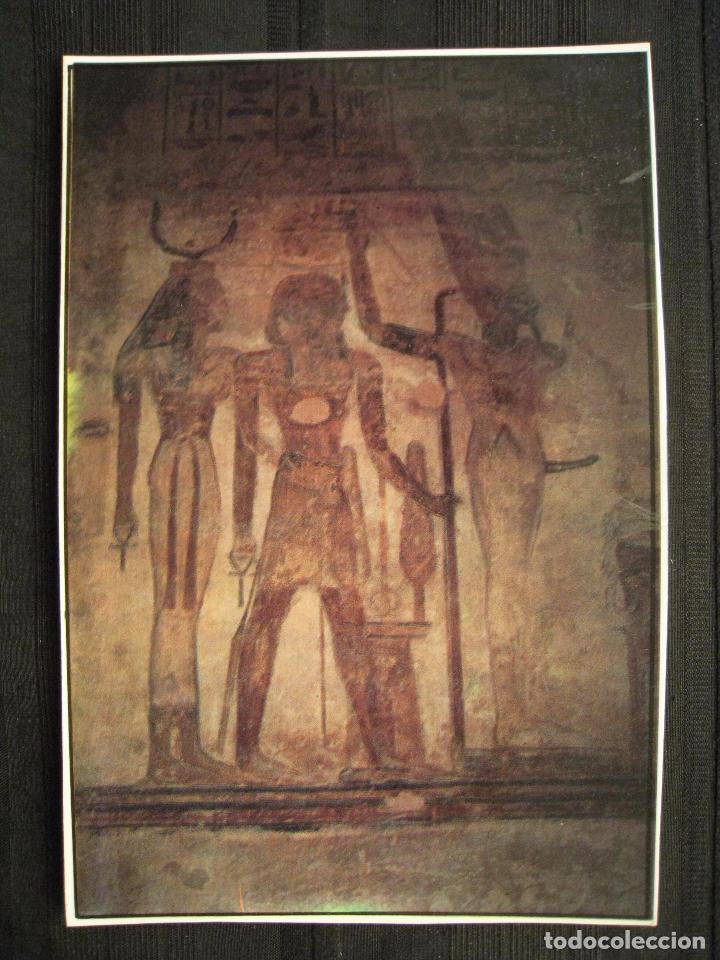Postales: POSTAL EGIPTO - THE TEMPLE OF ABU SIMBEL. - Foto 2 - 100451263