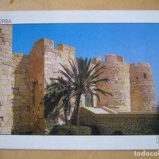 Postales: JERBA (TÚNEZ) - EL FUERTE ESPAÑOL (ESCRITA Y CIRCULADA, SELLO ARRANCADO). Lote 100569067
