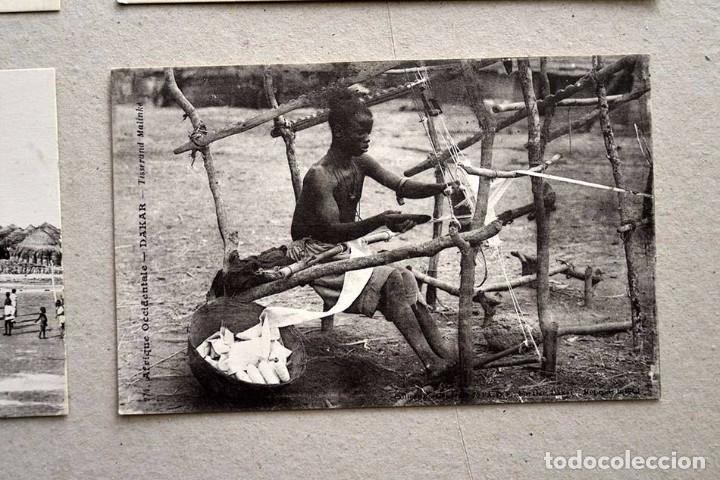 Postales: lote de 9 antiguas postales afrique occidentale - africa occidental - Foto 2 - 101524047