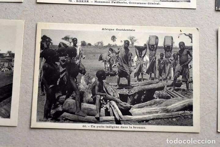 Postales: lote de 9 antiguas postales afrique occidentale - africa occidental - Foto 3 - 101524047