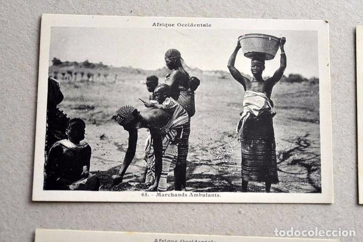 Postales: lote de 9 antiguas postales afrique occidentale - africa occidental - Foto 4 - 101524047