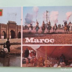 Postales: 4742 TYPICAL MOROCCO MARRUECOS TIPICO MAROC TYPIQUE. Lote 102835931