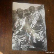 Postales: FOTOGRAFIA POSTAL NUMERADA - AMIGAS ZULUS - ANTIGUA- SIN CIRCULAR. Lote 103536431