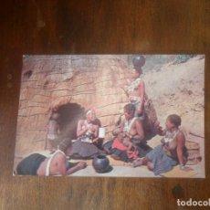 Postales: FOTOGRAFIA POSTAL REUNIÓN DE MADRES ZULUS ANTIGUA - SIN CIRCULAR. Lote 103538159