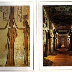Postales: ABU SIMBEL TEMPLE EGIPTO 18 TARJETAS POSTALES AÑO 2003 FN6. Lote 103643027