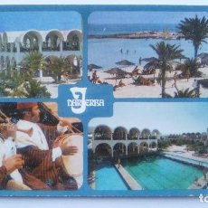 Postales: POSTAL DE LA REPÚBLICA TUNECINA, 252, TUNISIE - JERBA, DAR JARBA. Lote 103985351