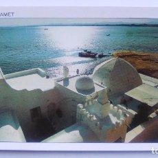 Postales: POSTAL DE LA REPÚBLICA TUNECINA, 261, TUNISIE, HAMMAMET - VUE SUR DEL GOLFE. Lote 103985935
