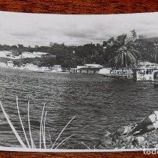 Postales: FOTO POSTAL DE GUINEA ECUATORIAL ESPAÑOLA, SAN CARLOS BAHIA, FOTO H. GARCIA, SIN CIRCULAR. Lote 104263203
