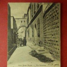 Postales: POSTAL - JERUSALEM - HECE HOMO BOCEN - VIA DOLOROSA - F. VESTER AMERICAN COLONY - ESCRITA EN 1902. Lote 104332271