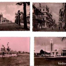 Postales: LOTE DE POSTALES Y VISTAS DE PORT SAID Y CANAL DE SUEZ - EGIPTO. AÑOS 1950. Lote 105799751
