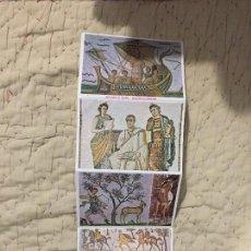 Postales: COLECCION DE 10 POSTALES DE TUNEZ - MOSAICO ROMANOS. Lote 105850159