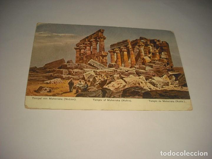 TEMPLE OF MAHARRAKA . NUBIA (Postales - Postales Extranjero - África)