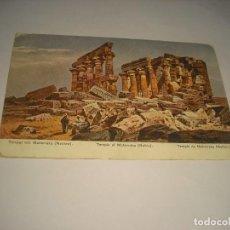 Postales: TEMPLE OF MAHARRAKA . NUBIA . Lote 108907195