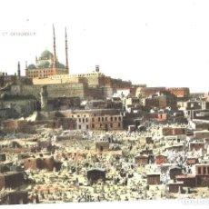 Postales: CAIRO. EGIPTO. CIMITIERE ET CITADELLE. Lote 110061071