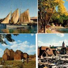 Postales: LOTE DE 80 POSTALES DE MADAGASCAR. COLOR AÑOS 1960-70. Lote 111104939