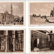 Postales: LOTE DE 23 POSTALES ANTIGUAS DEL CAIRO - EGIPTO. AÑOS 1950. Lote 105798987