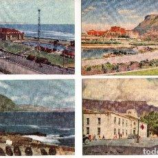 Postales: LOTE DE 11 POSTALES ARTÍSTICAS DE SUDÁFRICA. AÑOS 1950. Lote 111964015