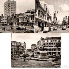 Postales: LOTE DE 24 POSTALES DE DURBAN - SUDÁFRICA. AÑOS 1950-1970. Lote 111964647