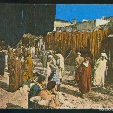 Postales: MARRUECOS. TETUAN. *CALLE DE LOS TINTOREROS* CIRCULADA 1969 FRANQUEO MECÁNICO.. Lote 112900563