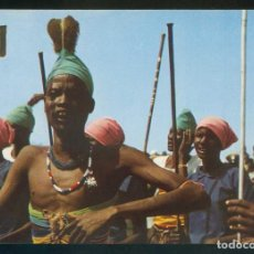 Postales: SUDÁN. *A DANCE FROM THE SOUTHERN SUDAN* NILO DISTR. Nº 12B. NUEVA.. Lote 113833175
