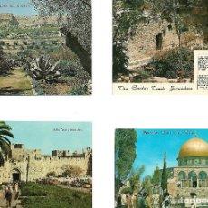 Postales: OPORTUNIDAD GRAN COLECCION DE 51 POSTALES ANTIGUAS DE JERUSALEN SIN CIRCULAR. Lote 114188091